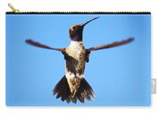 Black-chinned Hummingbird Flying Carry-all Pouch