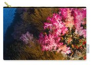 Black Coral And Soft Coral Seascape Carry-all Pouch