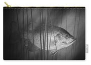 Black Crappie Or Speckled Bass Among The Reeds Carry-all Pouch
