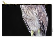 Black Crowned Night Heron Juvenile Carry-all Pouch