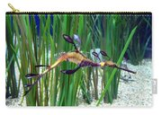 Black Dragon Seahorse Carry-all Pouch