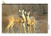 Black Ear Deer Carry-all Pouch