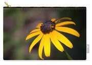 Black Eyed Susan With Young Bee Carry-all Pouch