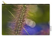 Black Foxtail Carry-all Pouch