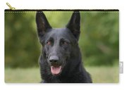 Black German Shepherd - Storm Carry-all Pouch