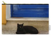 Black Greek Cat Carry-all Pouch