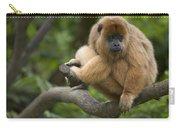 Black Howler Monkey Alouatta Caraya Carry-all Pouch