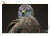 Black Kite 1 Carry-all Pouch by Heiko Koehrer-Wagner