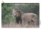 Black Maned  Lion Carry-all Pouch