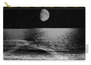Black Night At The Shore Carry-all Pouch