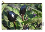 Black Olive Pepper Carry-all Pouch