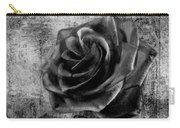 Black Rose Eternal  Bw Carry-all Pouch