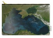 Black Sea Phytoplankton Carry-all Pouch by Nasa