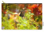 Black Swallow Tail Butterfly In Autumn Colors Carry-all Pouch