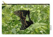 Black Swallowtails Mating Carry-all Pouch