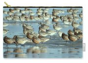 Black-tailed Godwit Limosa Limosa Flock Carry-all Pouch