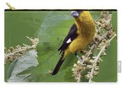 Black-thighed Grosbeak 2 - Dp Carry-all Pouch
