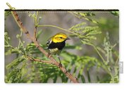 Black-throated Green Warbler Carry-all Pouch