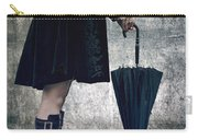 Black Umbrellla Carry-all Pouch by Joana Kruse