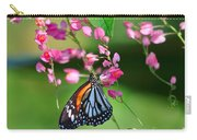 Black Veined Tiger Butterfly Carry-all Pouch