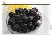 Blackberries And Yellow Mum Carry-all Pouch