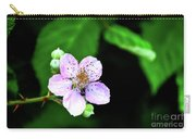 Blackberry Bloom Carry-all Pouch