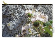Blackberry On The Rock Square Format Carry-all Pouch