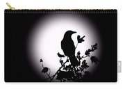 Blackbird In Silhouette  Carry-all Pouch