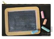 Blackboard Chalk Carry-all Pouch by Carlos Caetano