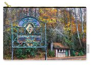 Blacksmith Shop Carry-all Pouch by Debra and Dave Vanderlaan