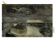 Blandings Swimming Turtle Carry-all Pouch