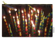 Blazing Amazing Birthday Candles Carry-all Pouch