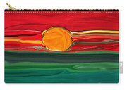 Blazing Red Sky Carry-all Pouch