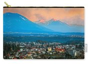 Bled City And Breg. Slovenia Carry-all Pouch