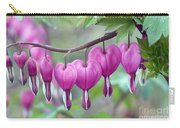 Bleeding Heart Carry-all Pouch by Gail Jankus and Photo Researchers