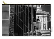 Blending Architecture Black And White Carry-all Pouch