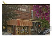 Blind Georges And Laughing Clam On G Street In Grants Pass Carry-all Pouch by Mick Anderson