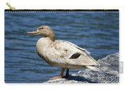 Blond Duck Carry-all Pouch