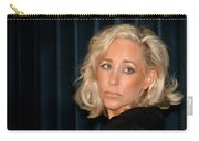 Blond Woman Sad Carry-all Pouch