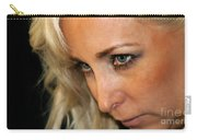 Blond Woman Strict Carry-all Pouch