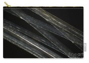 Blonde Human Hair Carry-all Pouch