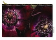 Blood Red Anemones Carry-all Pouch