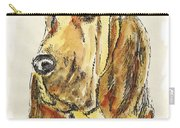 Bloodhound-watercolor Carry-all Pouch