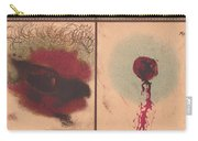 Bloodstain, Blisters, Bullet Holes, 1864 Carry-all Pouch by Science Source