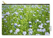 Blooming Flax Field Carry-all Pouch