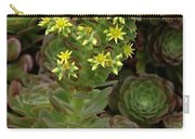 Blooming Succulents Carry-all Pouch