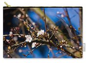 Blooming Tree With White Flowers Carry-all Pouch