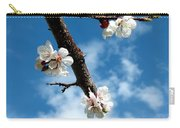 Blossoming Apricot Carry-all Pouch