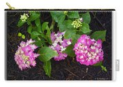 Blossoms And Rain Drops Carry-all Pouch