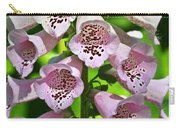 Blow The Trumpet Flora Carry-all Pouch by Andee Design